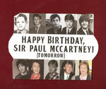 Happy Birthday, Paul