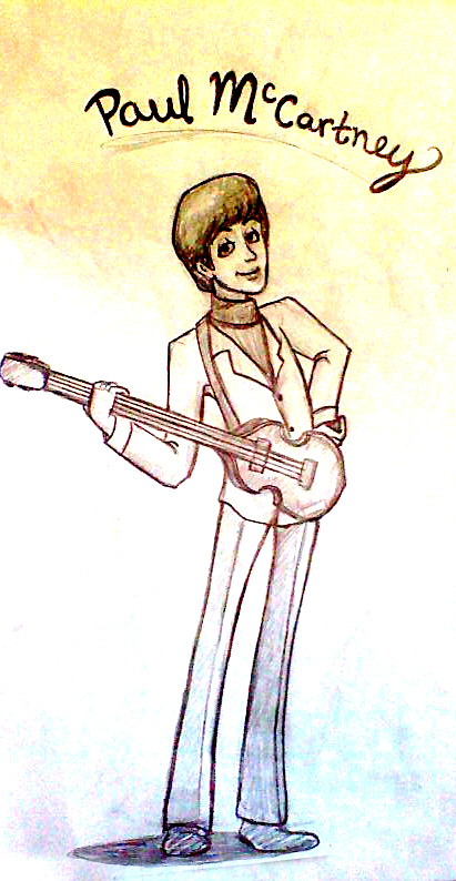 Paul cartoon