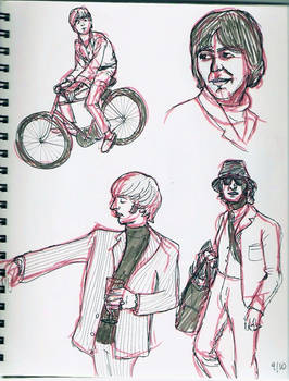 Beatles: sketches