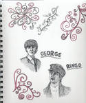 more sketches- George n' Ringo