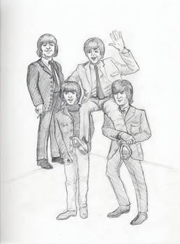 The Beatles Carry Paul