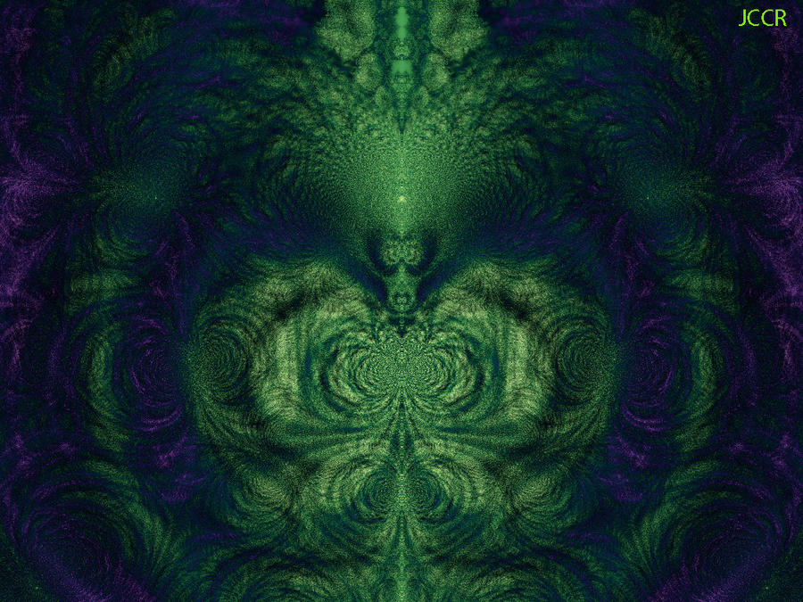 Swamp Lady by jccrfractals