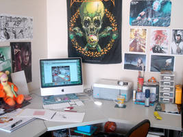 Death's Workstation by i-scene-death