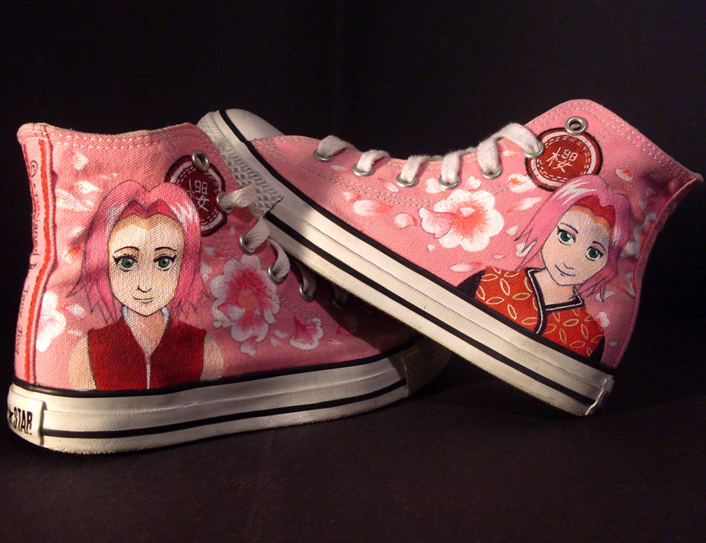 Sakura Haruno - Shoes by i-scene-death