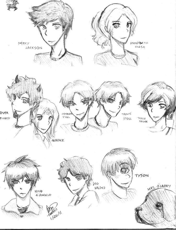 Percy Jackson and the Olympians characters