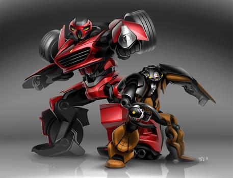California T-ransformer