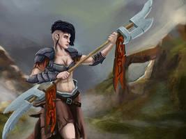 Warrior by HarryLeeMoon