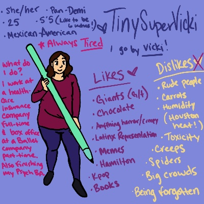 Meet the Artist! by tinysupervicki3