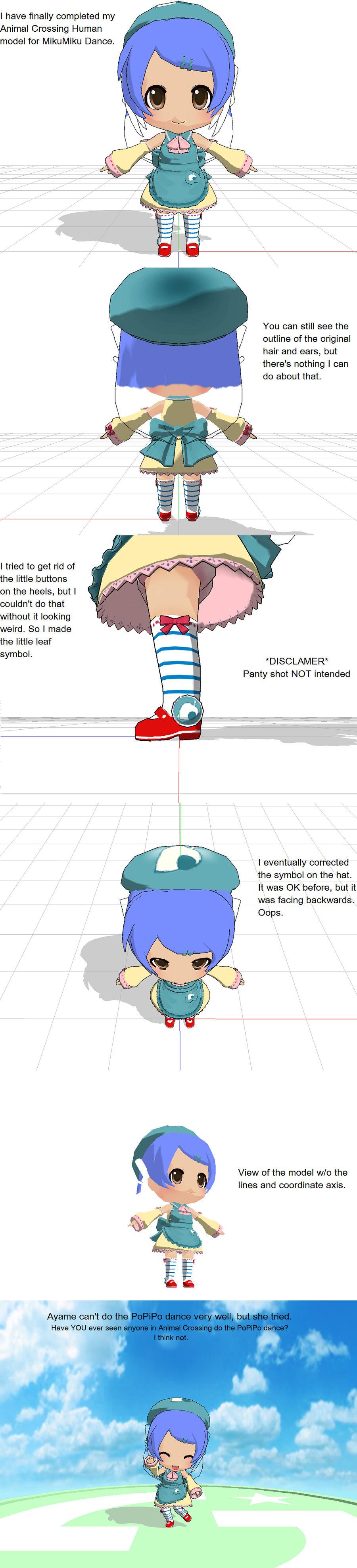 Animal Crossing Mmd By Sailor Pikmin On Deviantart