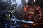Diablo vs. Arthas
