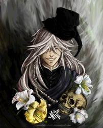 The Undertaker Portrait by MoritaTsubaki