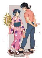 Ranma e Akane by MoritaTsubaki