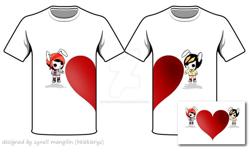 Couple Shirts Design Images   Couple Shirt Design By Zynell Mangilin By Zynell Mangilin On Deviantart