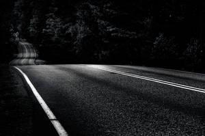 Dark Road by MikkoLagerstedt