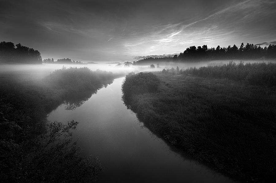 Mist And Noctilucent Clouds by MikkoLagerstedt