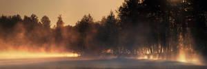 Morning Mist Panorama