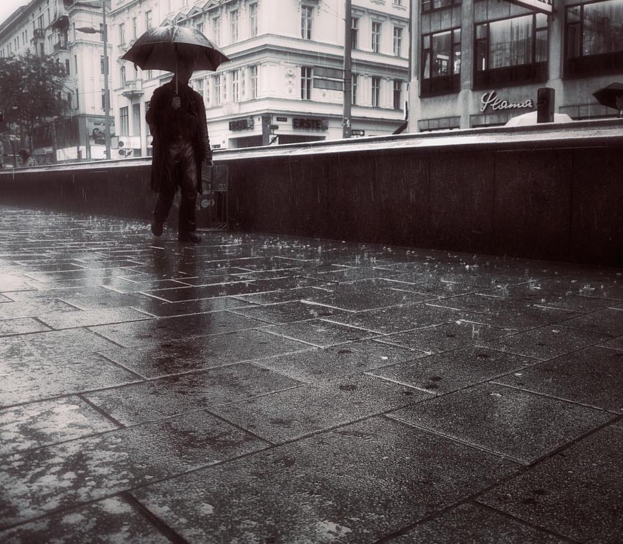 Walk Alone In The Rain by MikkoLagerstedt on DeviantArt