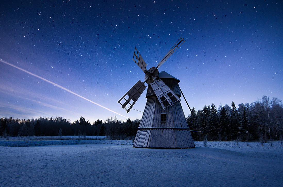 Night Mill by MikkoLagerstedt