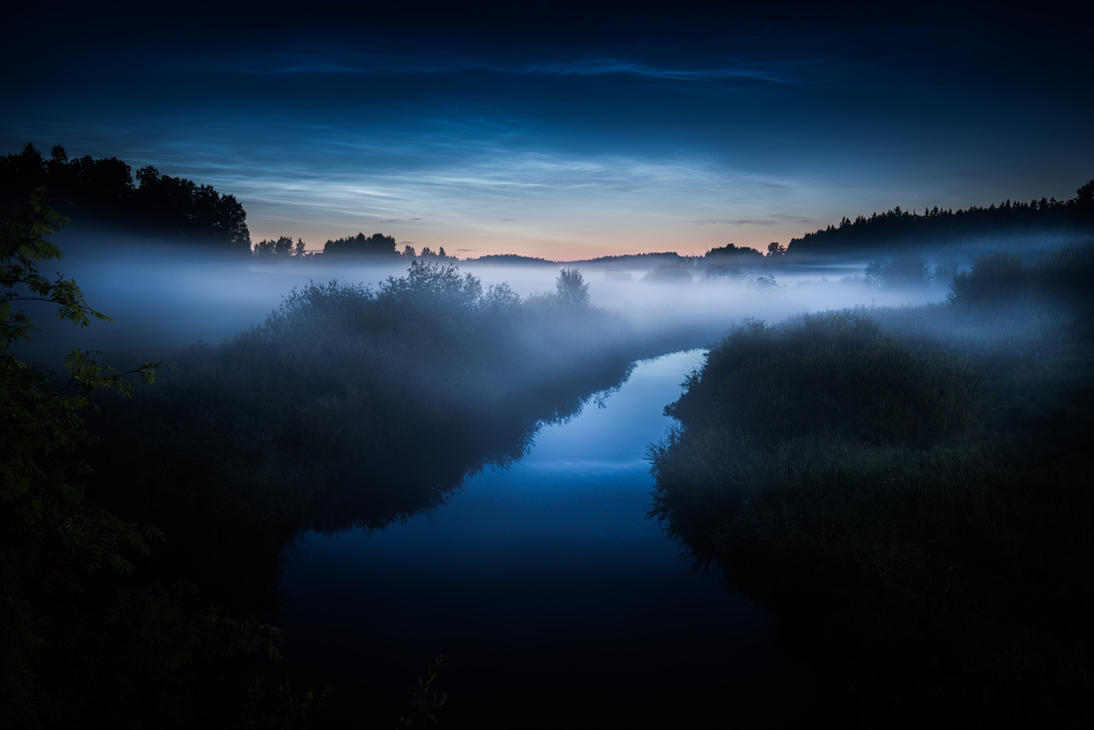 Noctilucent Clouds by MikkoLagerstedt