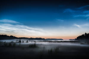 Noctilucent Night II by MikkoLagerstedt