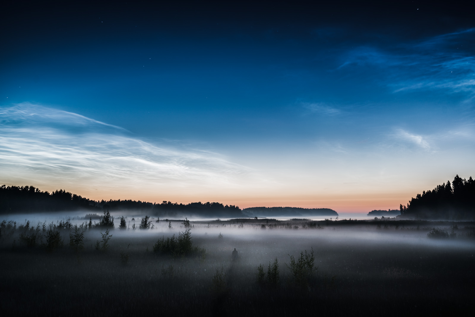 Noctilucent Night II by MikkoLagerstedt