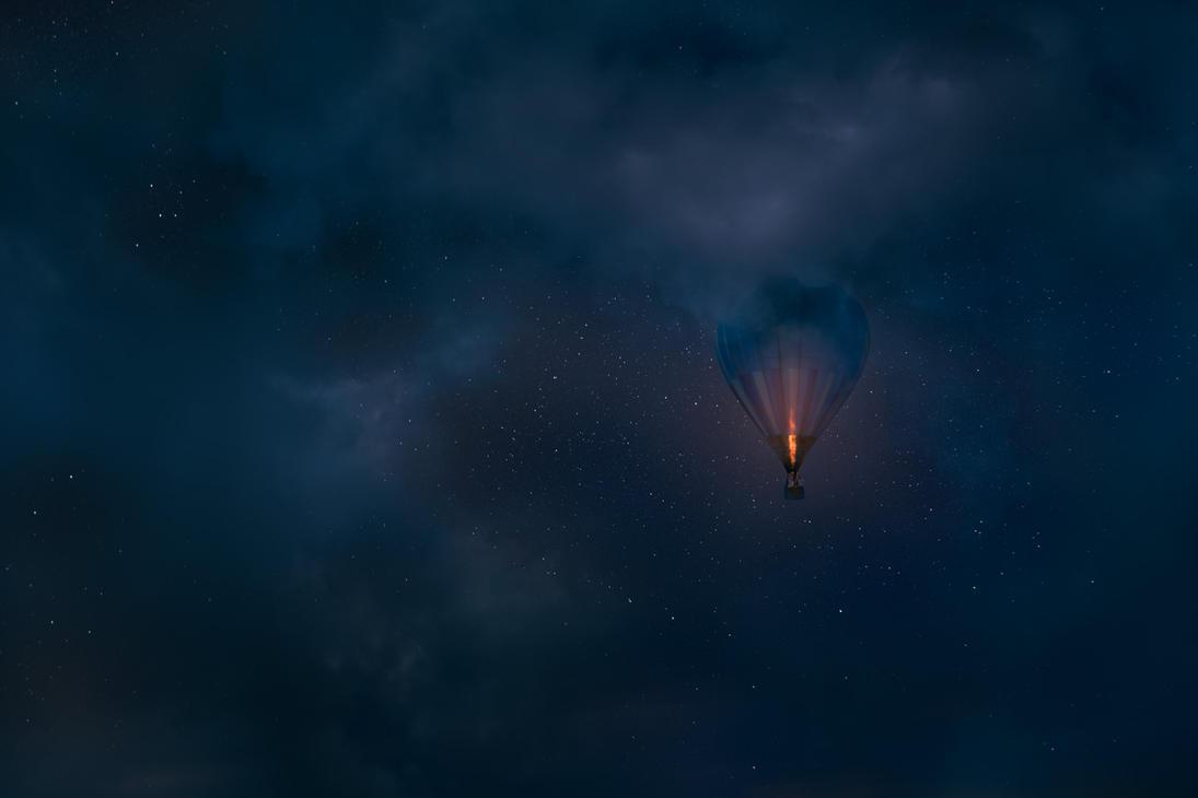 Night Flight by MikkoLagerstedt