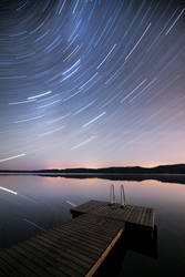 Star Trail Reflection