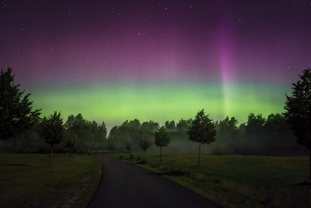 Summer Aurora Borealis by MikkoLagerstedt