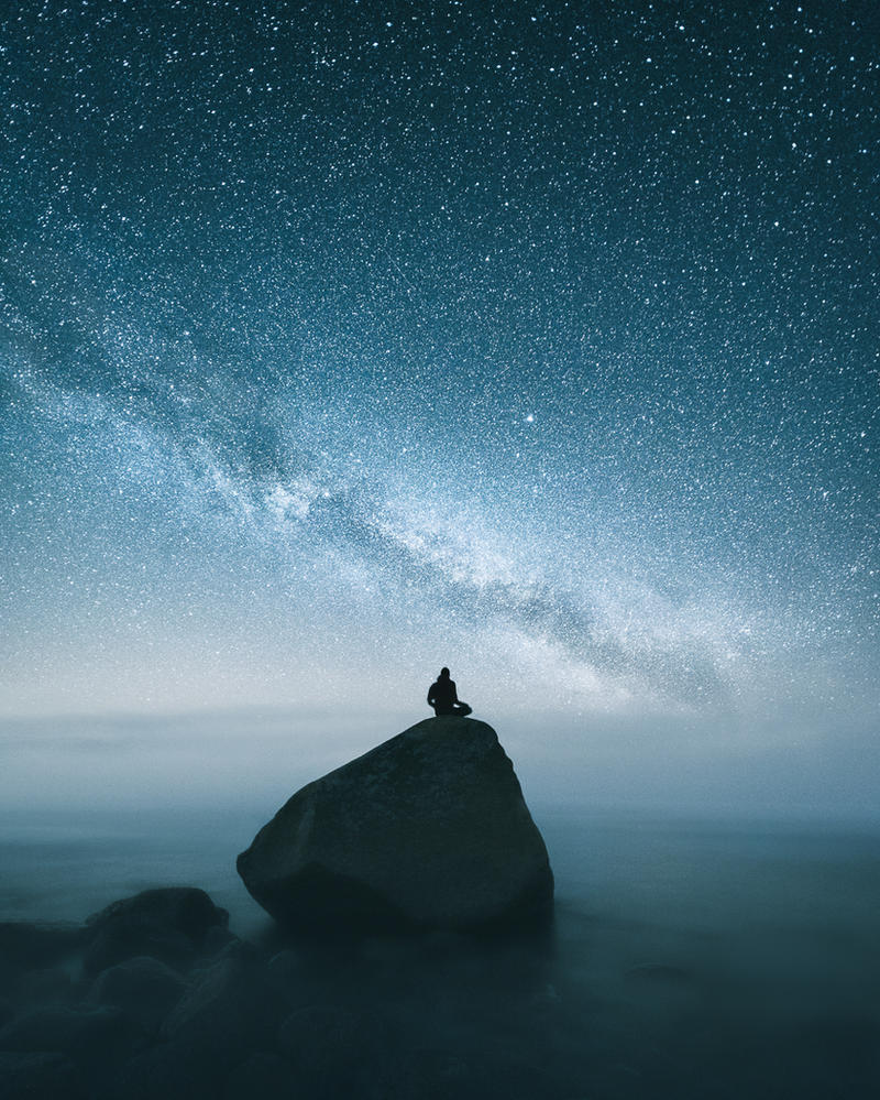 Late Night Meditation by MikkoLagerstedt