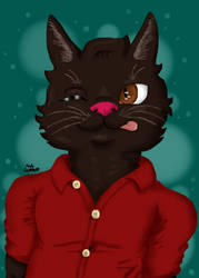 Kitty Cat by CodyOpulos
