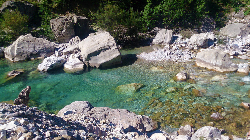river in valbona by sotiraras55