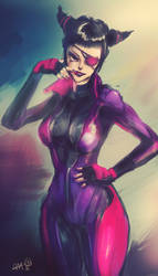 Juri Han / SFV by Professor-Irony