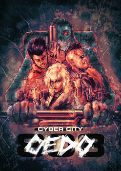 Cyber City Oedo 808 - Theatrical Poster