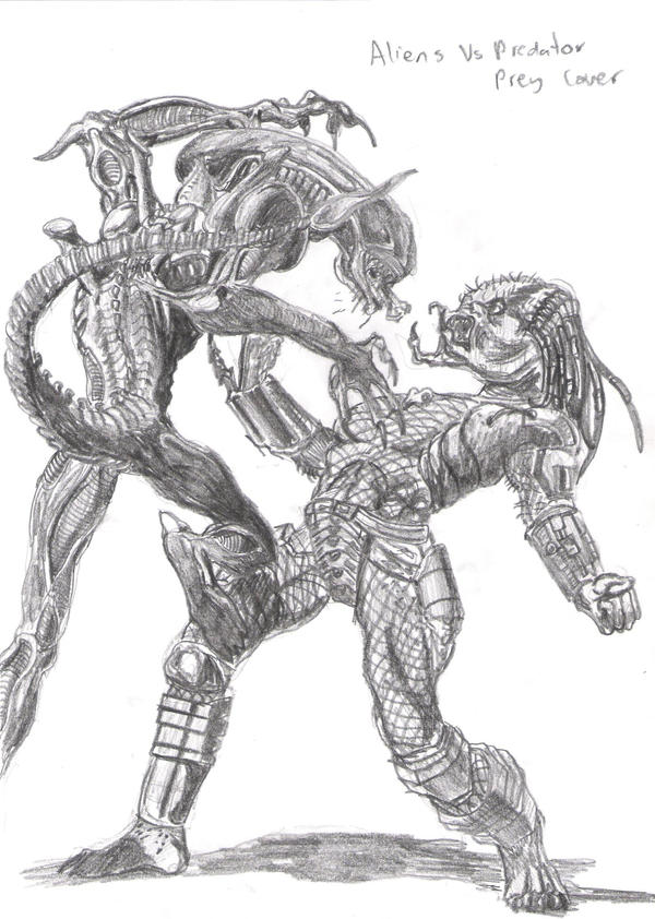 predator vs jason coloring pages - photo#19