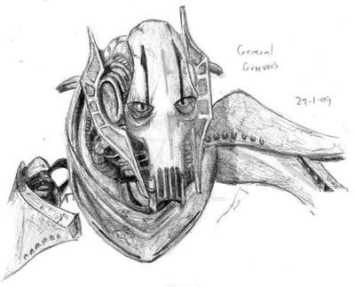 General Grievous--Star Wars by NiGhT-sTaLkEr13