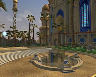 Shimmering Citadel 3 by aquaviann