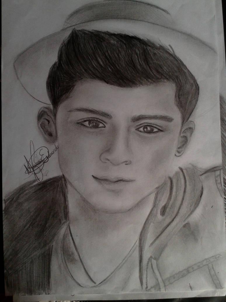 Zayn malik pencil draw by duudah