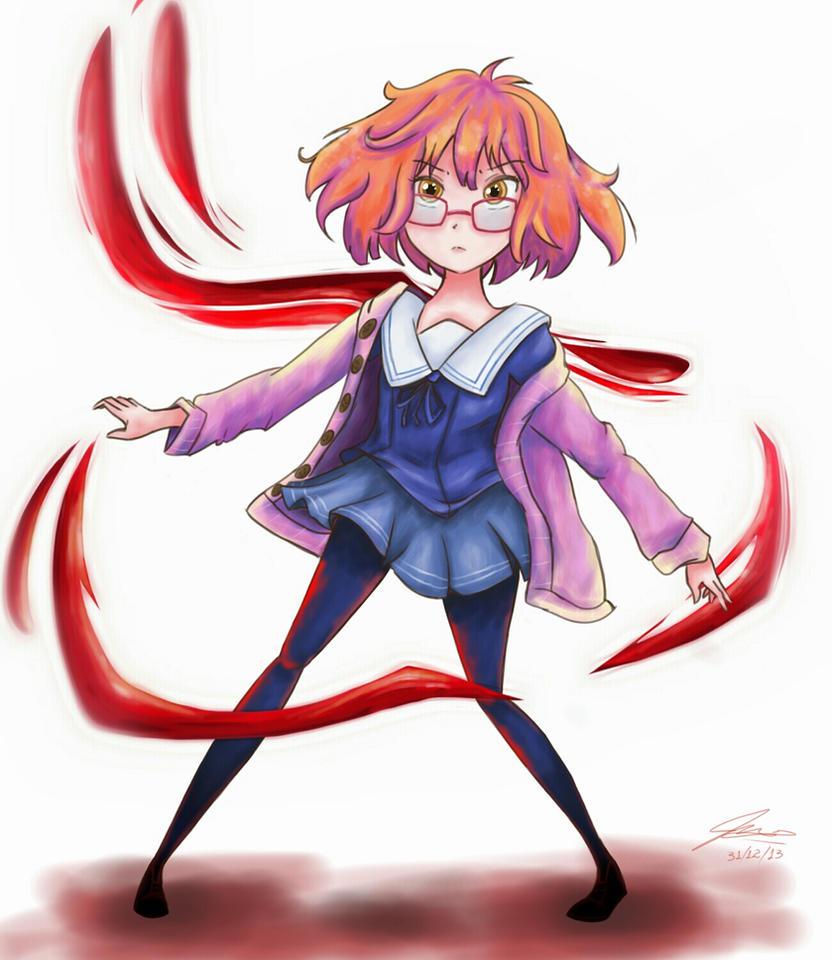 Kuriyama Mirai by SuperRainbowGirl