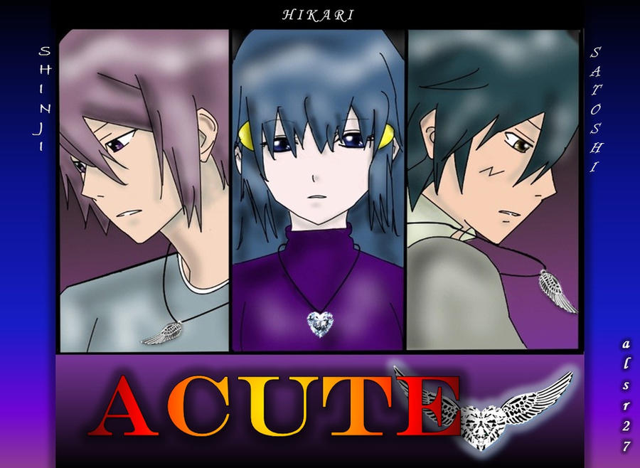 Acute pokemon (SatoshiXHikariXShinji) by Xalsr27X