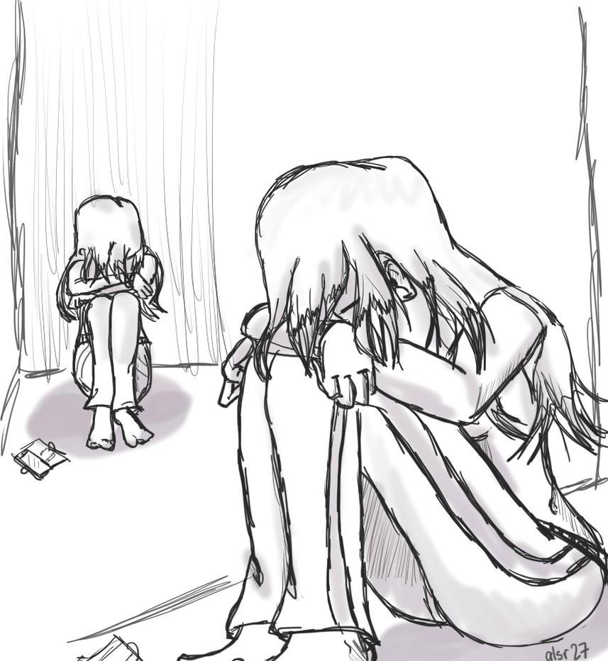 sketch sad leika by Xalsr27X