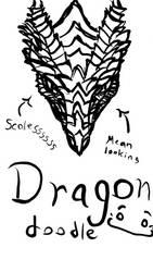 Dragon Doodle by Antaria-Nova