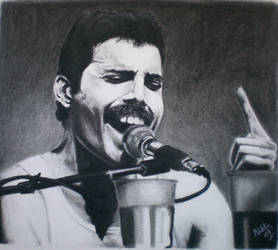 Freddie Mercury by SweetCoconutMilk