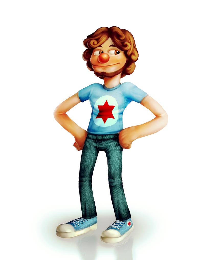 Puppet Danny by 3DBear