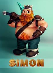Simon by 3DBear