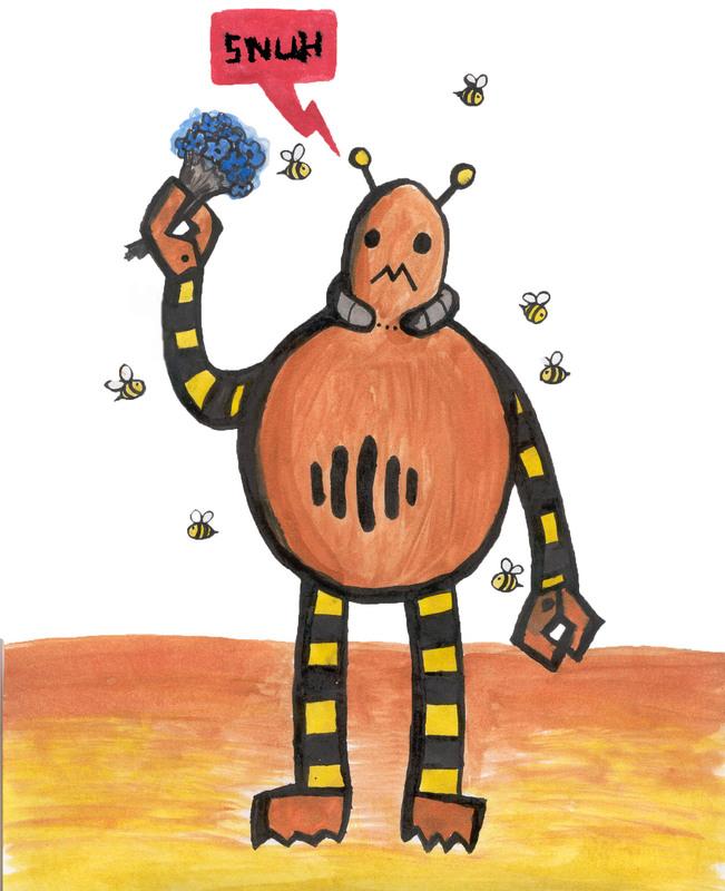 Beeserker fan art by Jety-Lefr