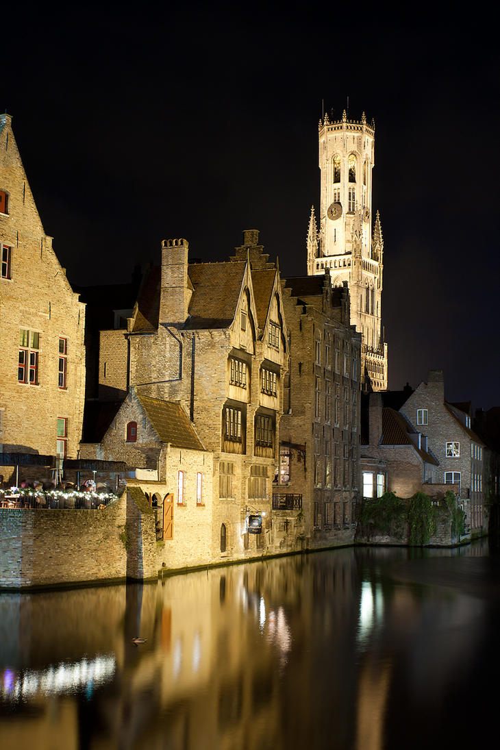 De Rozenhoedkaai, Brugge by ukwreckdiver