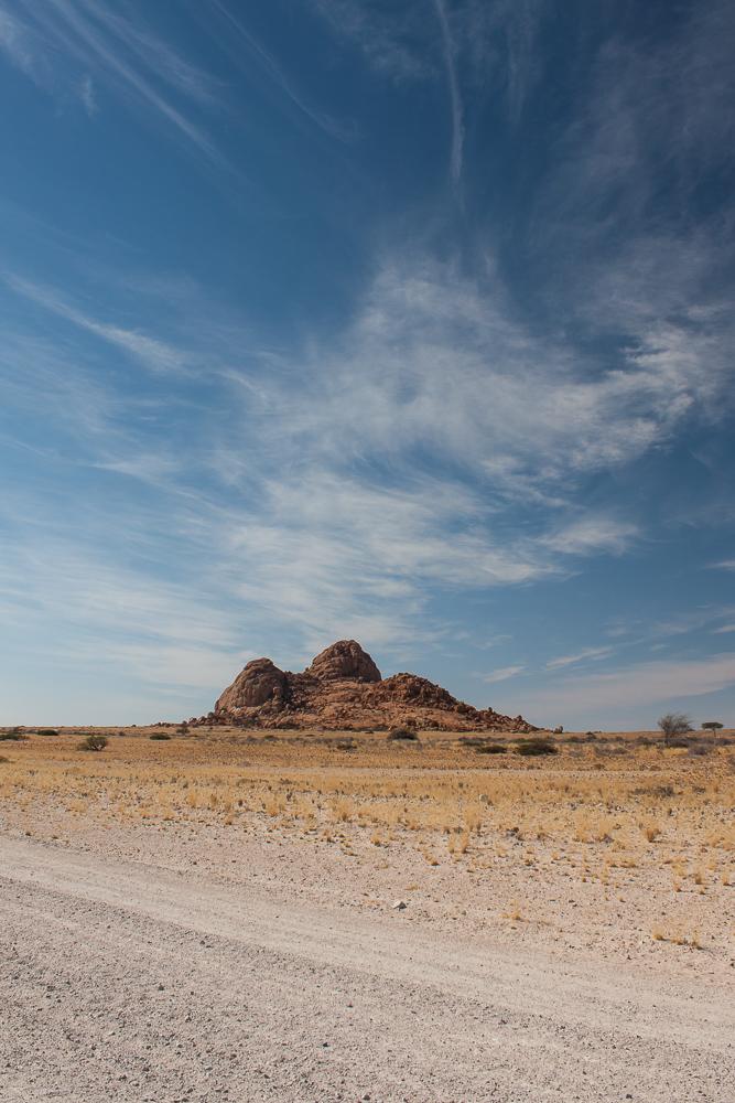 Namibian desert skyline by ukwreckdiver