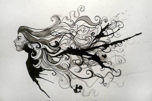 Splatter and swirl