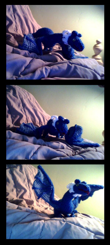 Crochet Dragon by karakanatmelek