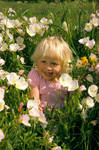 Lauren in Flowers 2 by signman7194